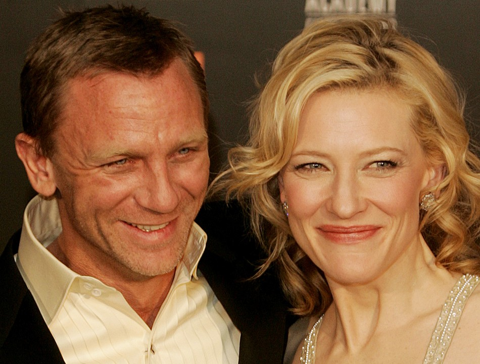 Image result for cate blanchett and daniel craig