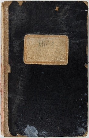 This never-before-seen journal bears hundreds of entries,