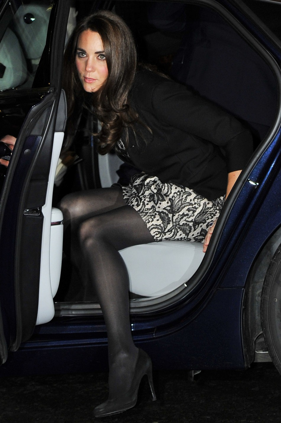 Opaque tights for winter
