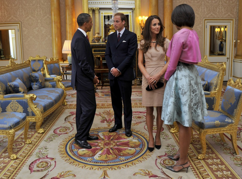 Meeting the Obamas in nude tights