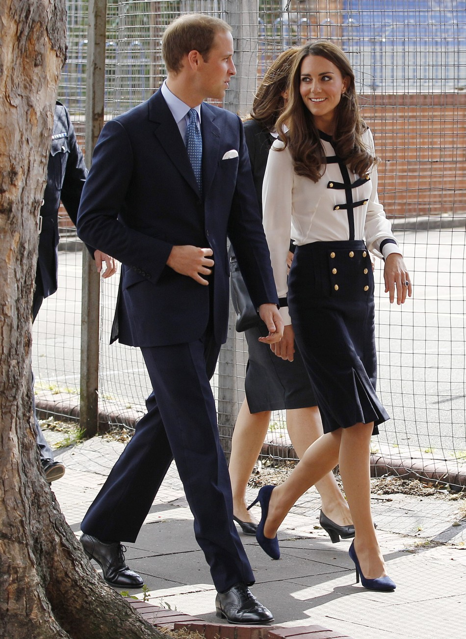 Nude tights for a royal occasion