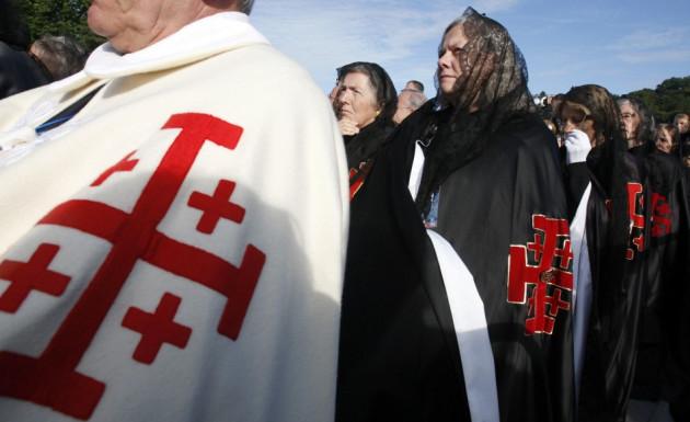 Franch Catholics Protest