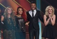 Amelia LIly with other Contestants