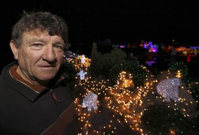 Zlatko Salaj, owner of the country house estate, poses in the village of Grabovnica near Cazma, central Croatia December 6, 2011