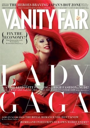 Lady Gaga Vanity Fair January 2012
