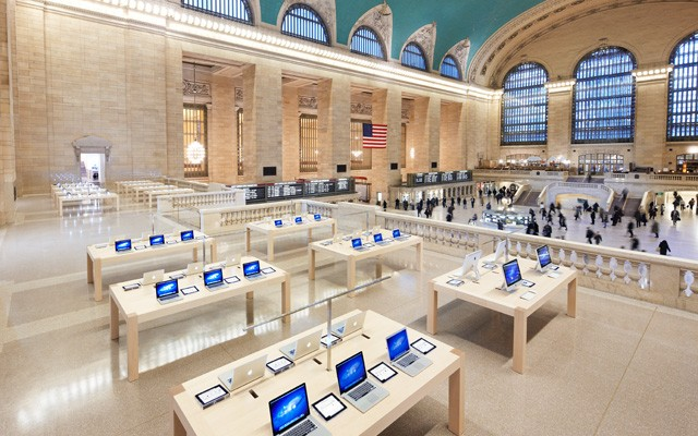 Apple's Grand Central Store