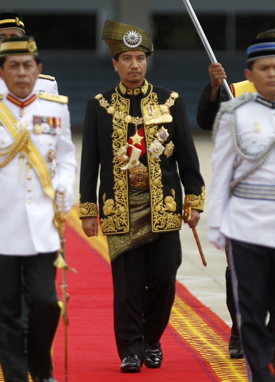 Malaysia's outgoing king Sultan Mizan