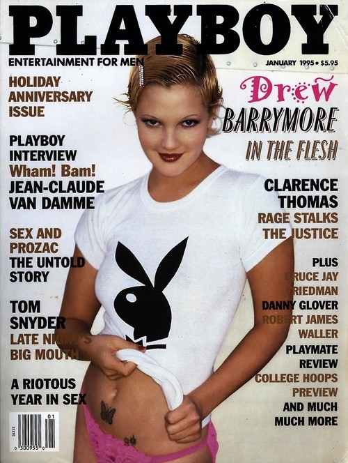 Drew Barrymores Playboy Cover
