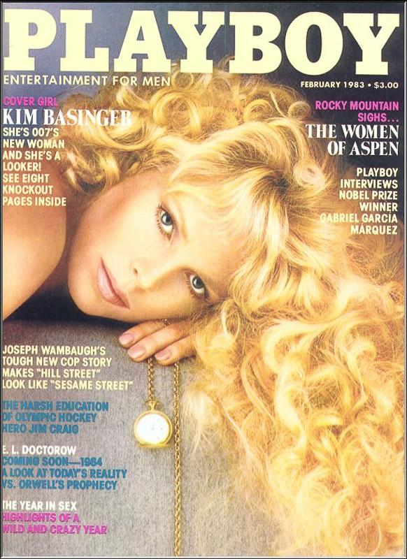 Kim Basinger's Playboy Cover