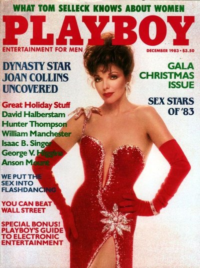 Joan Collins Playboy Cover