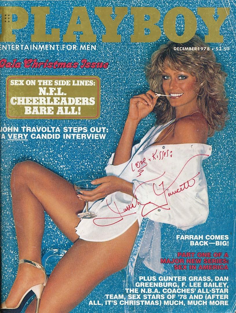 Farrah Fawcett's Playboy Cover