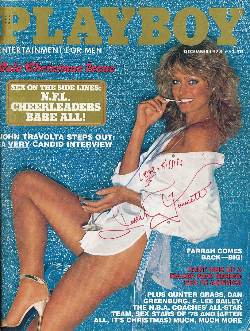 Farrah Fawcetts Playboy Cover