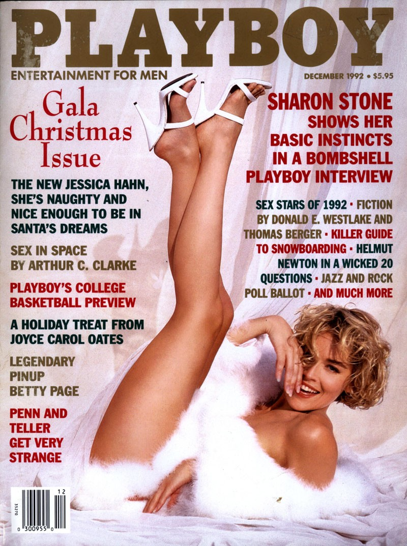 Sharon Stones Playboy Cover