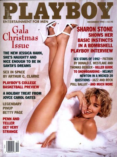 Sharon Stones Playboy Cover