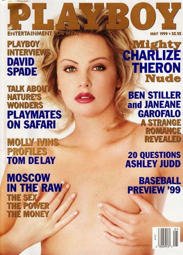 Charlize Therons Playboy Cover