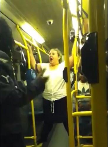 racist bus