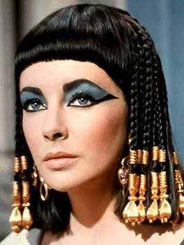 egyptian style hair liz s cleopatra wig sold at auction for 163 10 300 5699 | elizabeth taylor