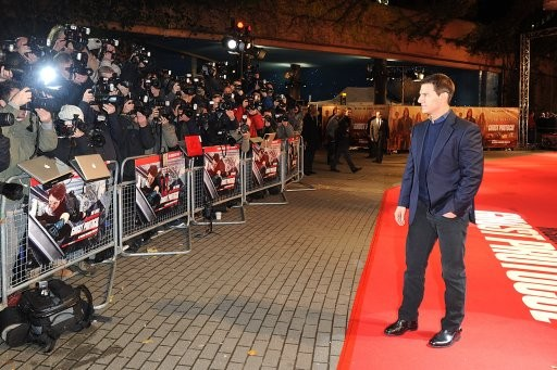 Tom Cruise at Premiere of Mission Impossible Ghost Protocol