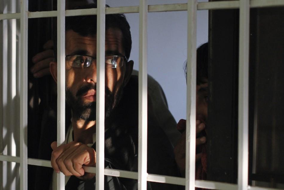 Chained Student in Karachi Madrassa