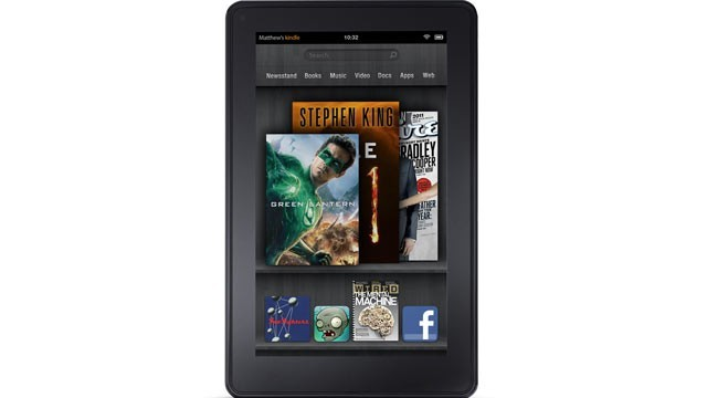 Amazon's Kindle Fire Half as Hot as Apple's iPad 2