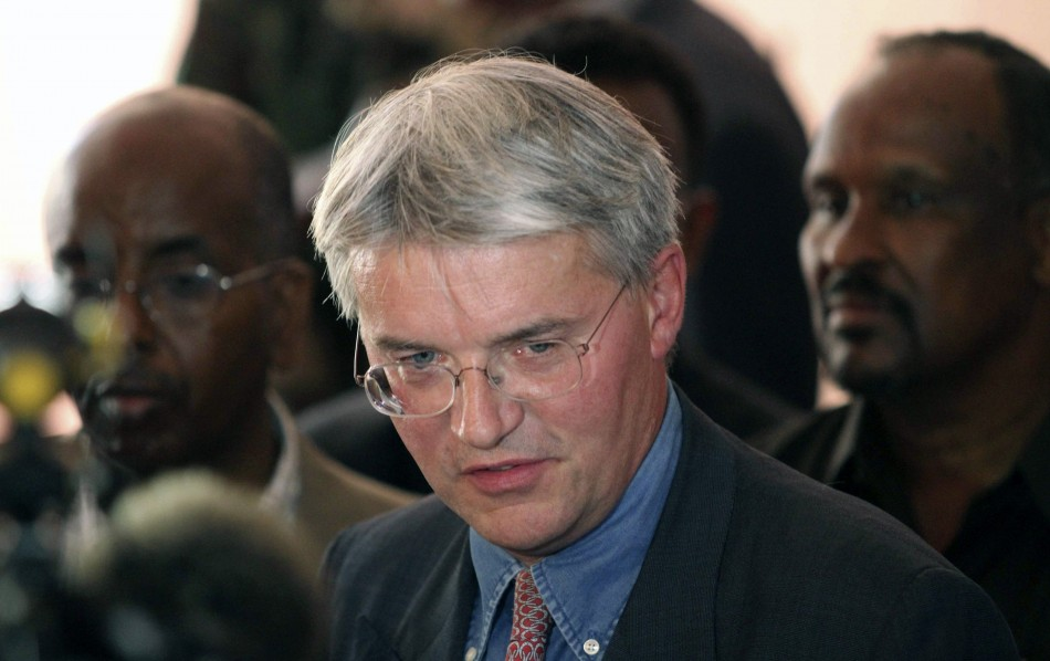 Andrew Mitchell Bares All to Photographers