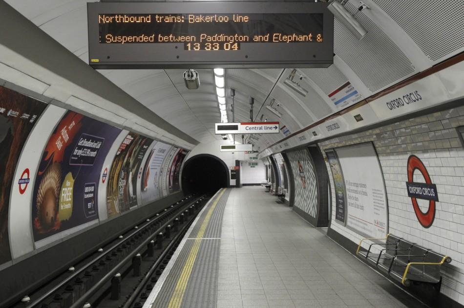 Underground station in Lodnon