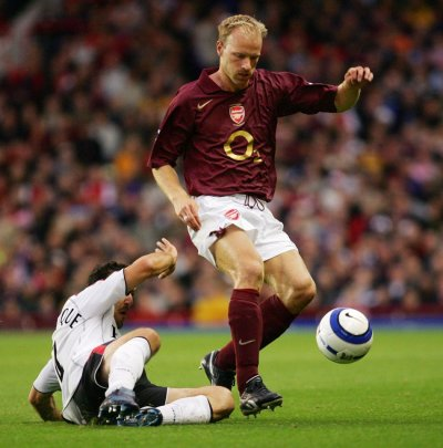 Arsenals Dennis Bergkamp