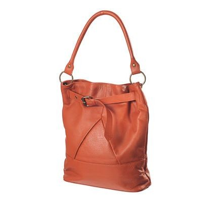 FOR HER - Fairtrade Tan Leather Shoulder Bag