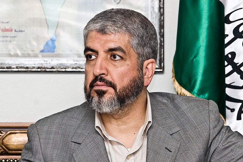 Khaled Meshaal, Hamas leader