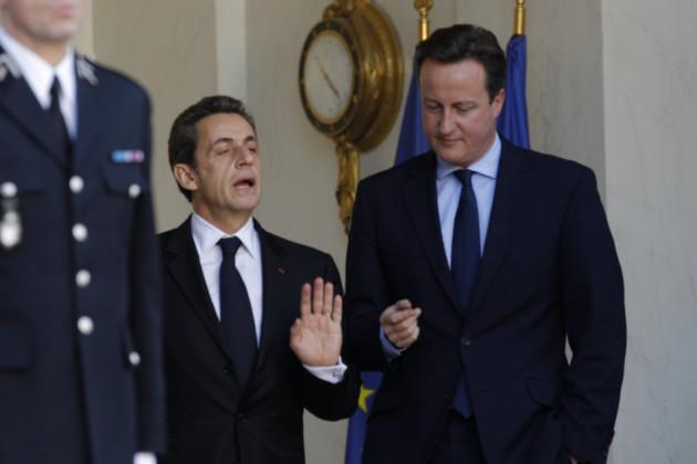 Cameron and Sarkozy