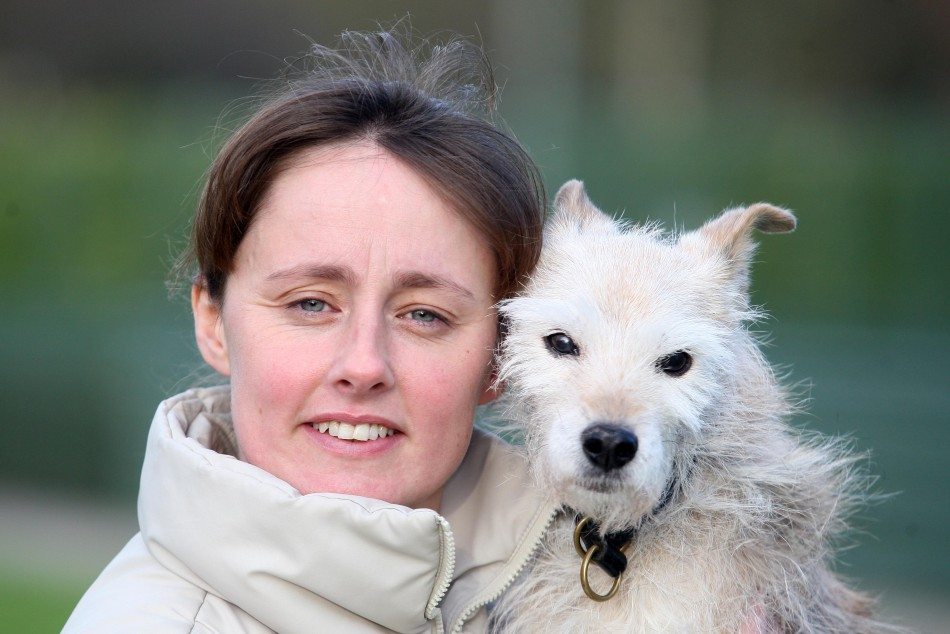 Pip and Owner Tiffany Dyer