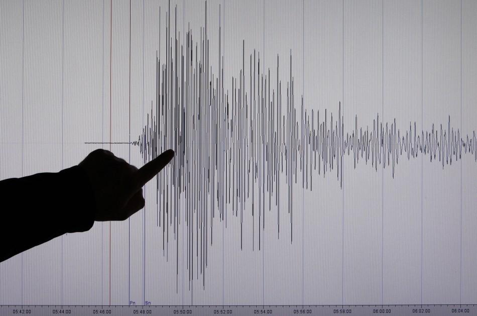 Seismologist Bernd Weber of Germany's Geoscientific Research Institute GFZ in Potsdam