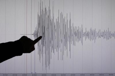 Seismologist Bernd Weber of Germanys Geoscientific Research Institute GFZ in Potsdam