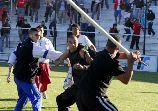 Football hooligans