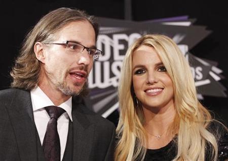 Britney Spears and Jason Trawick