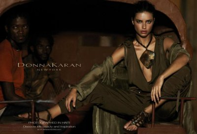 Donna Karans Adriana Lima Haiti Ad Campaign Deemed Racist