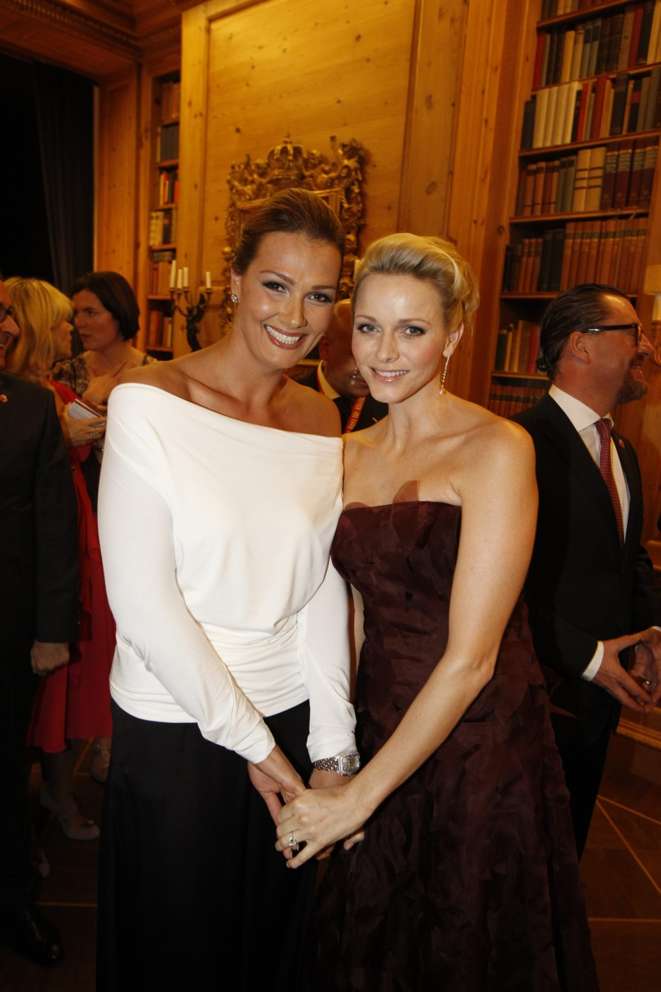 Princess Charlene Exudes Beauty and Elegance at Berlin Charity Gala