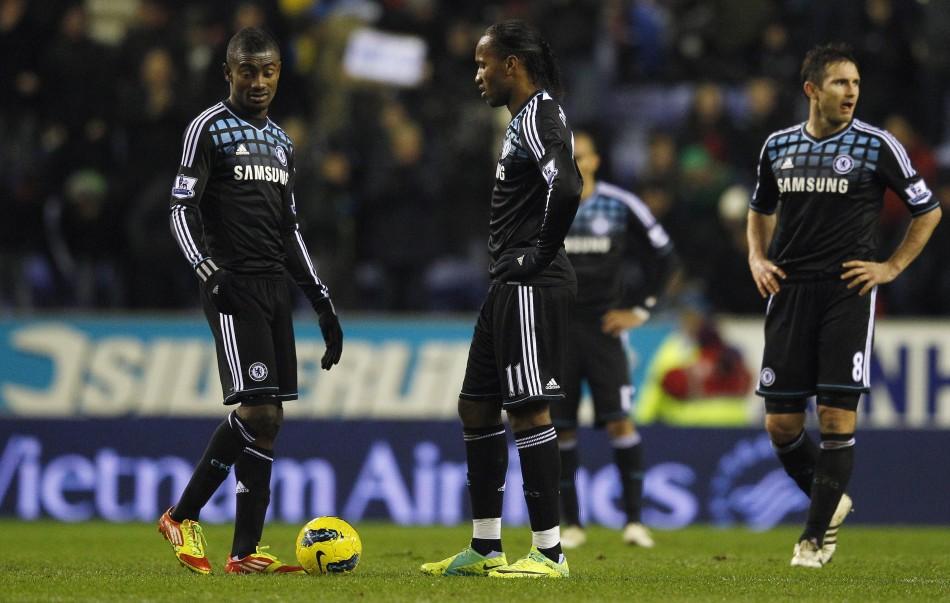 Wigan 1-1 Chelsea