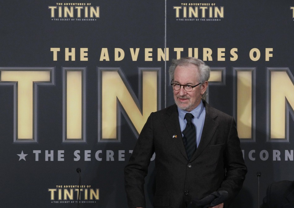 Steven Spielberg at the Premiere of The Adventures of Tintin