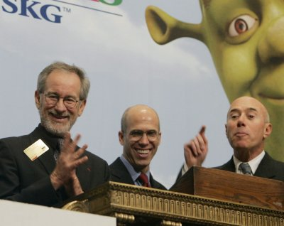 Taking Stock Steven Spielberg at the NYSE