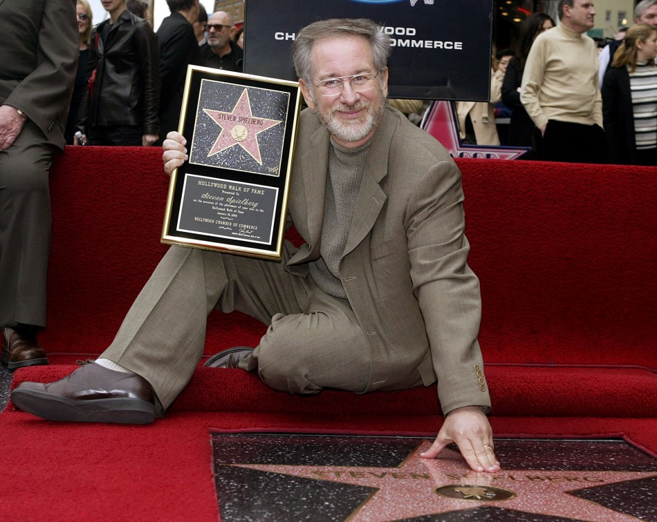 Steven Spielberg Doing the Walk of Life, We Mean, Fame