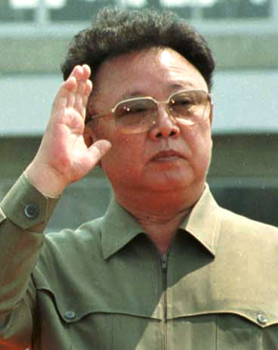 File picture of Kim Jong-il