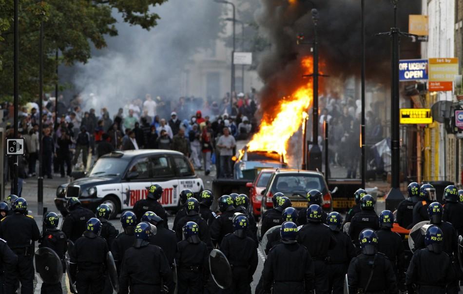 Riots August Hackney