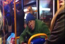 Racist Man on 314 bus