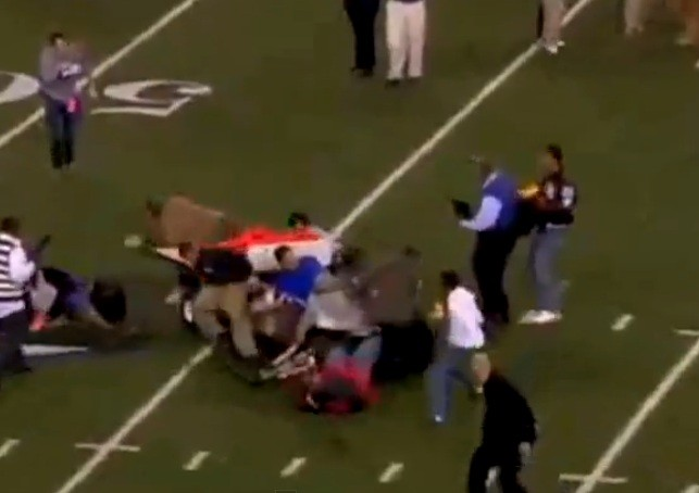 The incident happened after Spring Dekaney beat Cibolo Steele, 34-14, to win the Texas 5A Division II football title