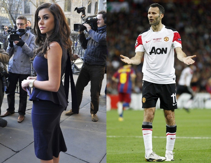 Ryan Giggs  Imogen Thomas