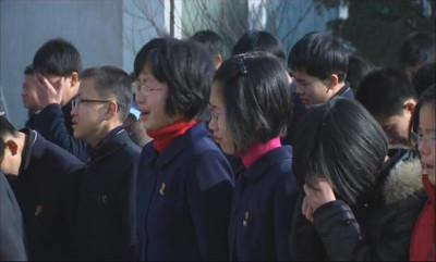 North Korea mourns