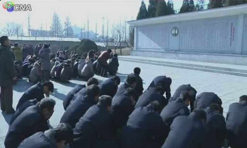 North Korea mourns