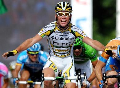 Mark Cavendish Pedals to Honour