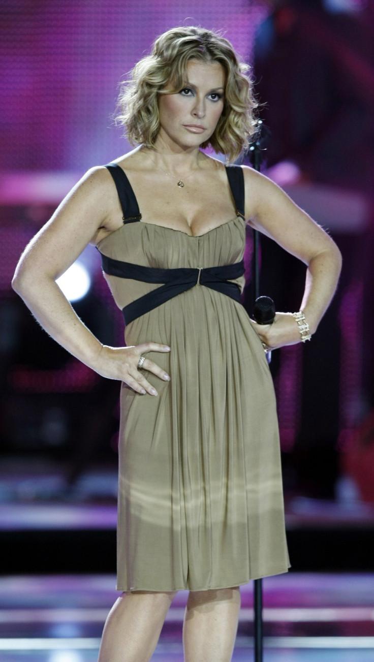 U.S singer Anastacia